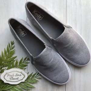 KEDS Double Decker Slip On Sneaker Grey 11 NWOT